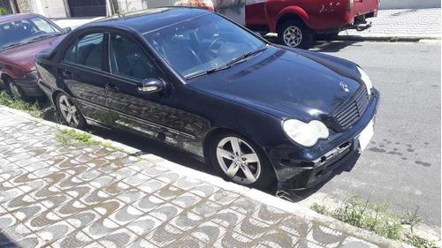 Mercedes Benz C320 2002  Só Pra Rodar Ou Vendo Motor -cambio