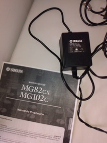 Mesa Mixer Yamaha Mg82cx Com Softcase E Manual
