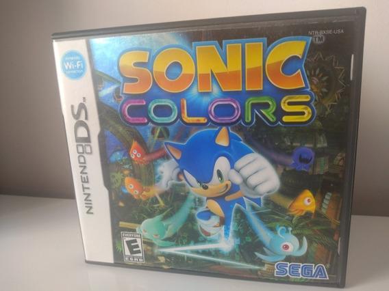 Jogo Sonic Colors Nintendo Ds