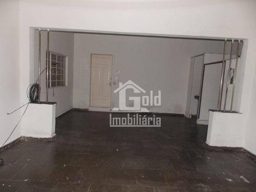 Imagem 1 de 5 de Salão Para Alugar, 100 M² Por R$ 850,00/mês - Campos Elíseos - Ribeirão Preto/sp - Sl0280