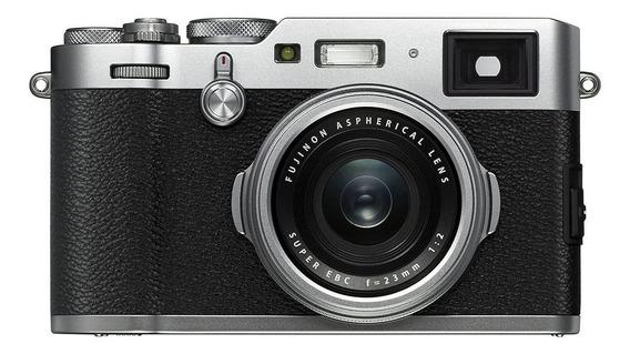 Fujifilm X Series X100F compacta prata