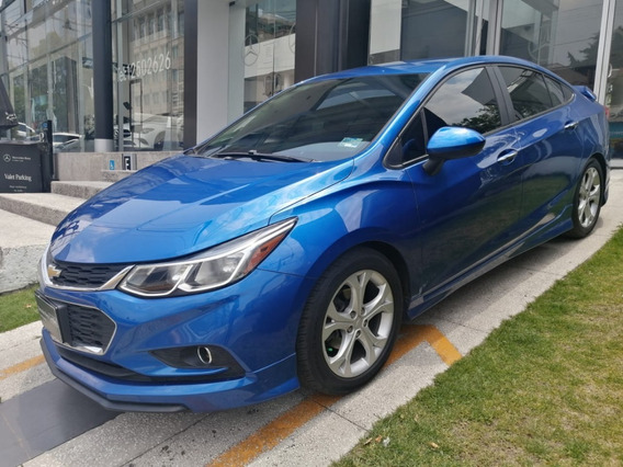 Chevrolet Cruze Lt Azul 2016