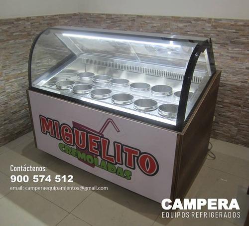 Exhibidora De Cremoladas - Campera Pro