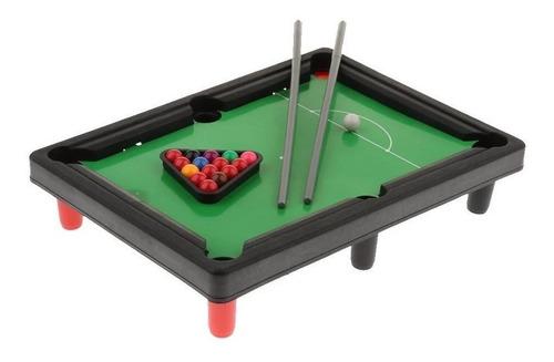 Imagen 1 de 2 de Juego De Mesa Mini Pool Infantil Escritorio Bolas Juguete
