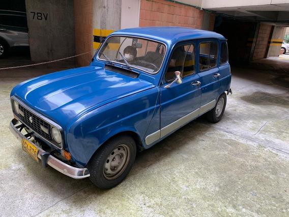 Renault R4 Modelo 1986, Azul,master