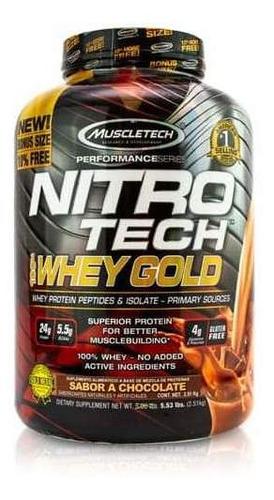Nitrotech Whey Gold 5.53 Libras