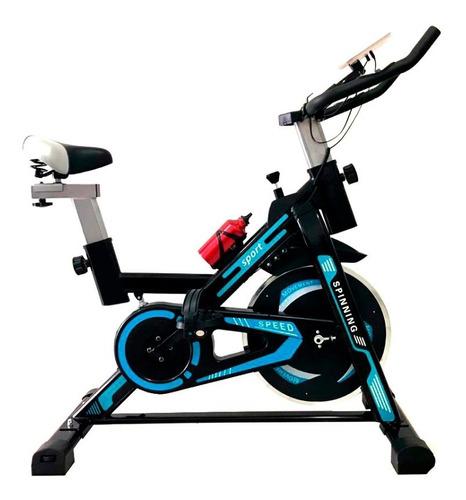 Bicicleta Spinning Estática Corleone 15 Kg Con Resorte
