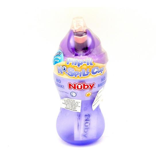 Vaso Antiderrames Flip-it No-spill Cup Marca Nuby 355ml.