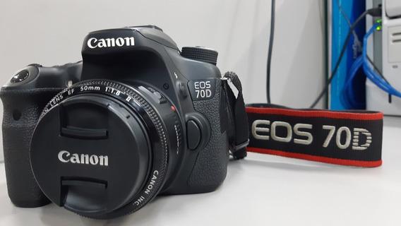 Vendo Canon 70d Corpo, Carregador De Bateria E Uma Bateria