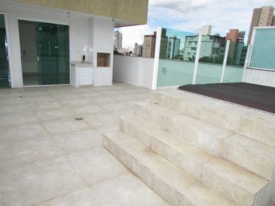 Cobertura Com Spa, 3 Quartos, Gutierrez, Próximo Ao Barroca Tênis Clube E Á Praça Leonardo Gutierrez - 10780