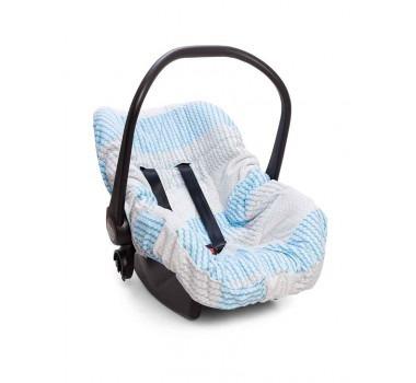 Capa De Bebê Conforto Pedacinho Do Céu Azul Hug