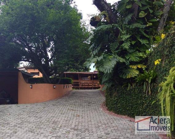 Fazendinha - Casa Rustica De Muito Bom Gosto, Rodeada De Muito Verde, 2.500 M² De Terreno. - Ca1997