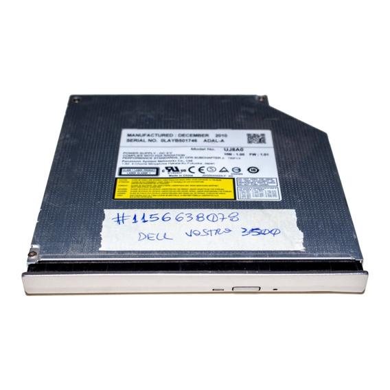 Gravador Dvd Dell Vostro 3500 Com Acabamento Frontal