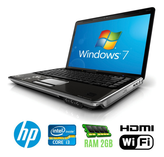 Notebook Hp Intel Core I3 Ram 2gb Hd320 Hdmi