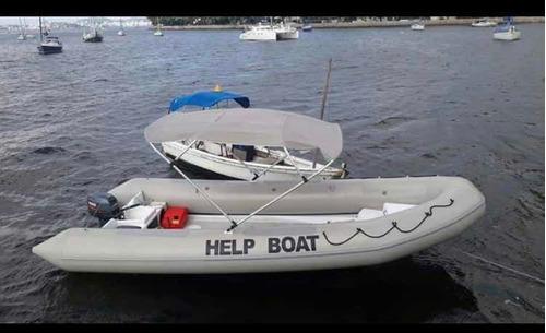 Imagem 1 de 3 de Bote Inflável Help Boat
