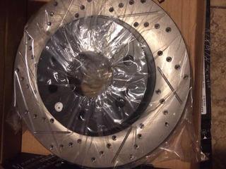 Rotor De Freno Perforado , Ranurado