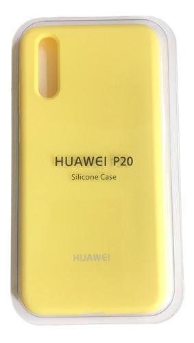 Estuche Silicone Case Huawei P 20