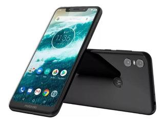 Motorola Moto One Dual Sim 64 Gb Negro 4 Gb Ram Sellado