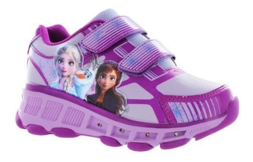 Tenis Patin Frozen 2 Con Luces