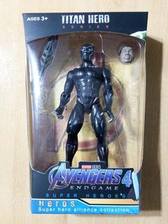 Muñeco Pantera Negra Avengers Endgame C/ Accesorios