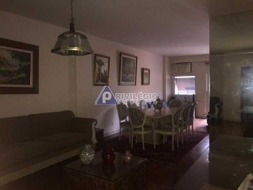 Apartamento À Venda, 3 Quartos, 1 Suíte, 2 Vagas, Copacabana - Rio De Janeiro/rj - 18502