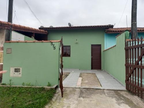Imagem 1 de 14 de Casa Na Praia Em Itanhaém Aceita Financiar 8685