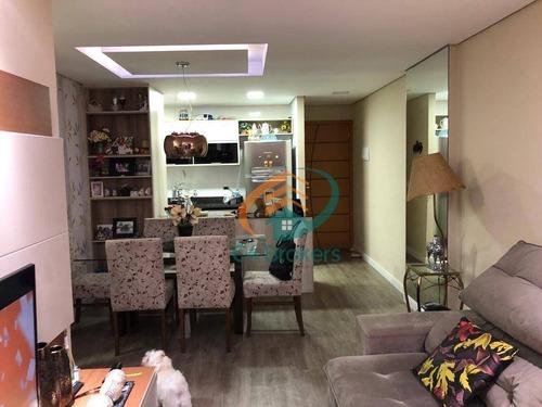 Imagem 1 de 20 de Apartamento À Venda, 72 M² Por R$ 460.000,00 - Ponte Grande - Guarulhos/sp - Ap0572