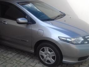Veículo Honda City Ano 13 Na Cor Cinza Motor 1.5 Dx Flex