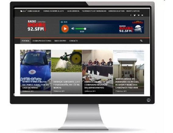 App Aplicación Android Para Radio / Tv / Institucion