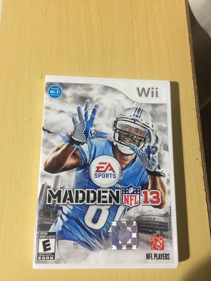 Madden 13 - Wii