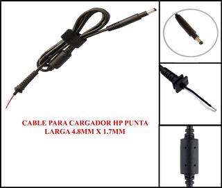 Cable Reparacion Cargador Hp Punta Larga