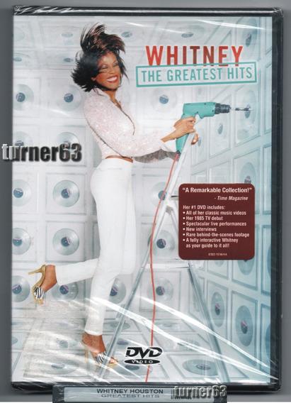 Dvd ** Whitney Houston - The Greatest Hits ** Orig Imp Nuevo