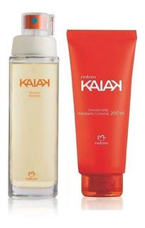 Kit Perfume + Crema Kaiak Clásico Mujer 2 Productos Natura