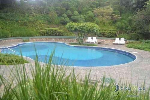 Vendo O Alquilo Apartamento Amueblado Zona 14 Piscina - Pma-023-08-16