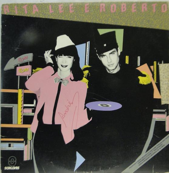 Lp Rita Lee E Roberto Carvalho - Bombom - 1983 - R180