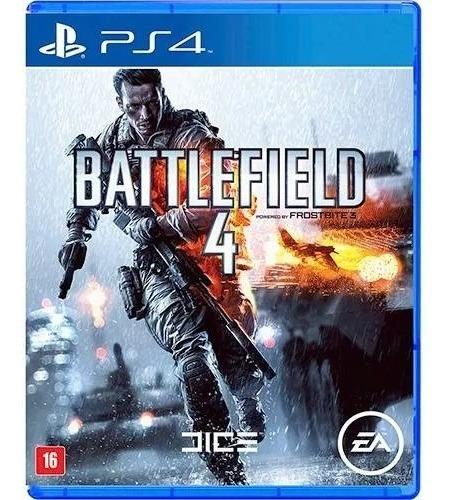Battlefield 4 Ps4 Mídia Física Nacional Lacrado Rj