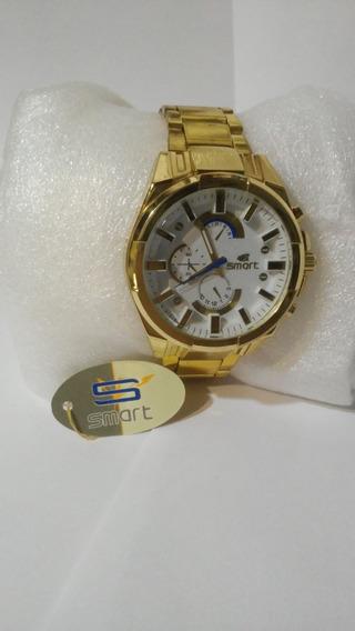 Relógio Masculino Smart Fundo Branco Envio Rápido