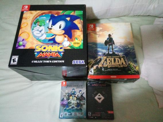 Zelda Breath Of The Wild Special Edition - Nintendo Switch