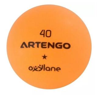 Pelotas De Ping Pong Fb800 Naranja Paquete De 6