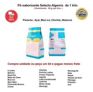 Kit 05 Pó Saborizante Para Sorvete Lactinho - 1 Kg - Selecta