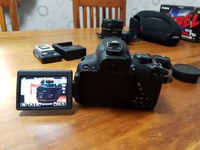 Corpo Canon T5i + Adaptador Tomada E Usb - Perfeito Estado