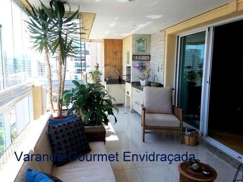 Apartamento Com 4 Dormitórios, 3 Suítes, 4 Vagas E 203 Metro Santana. - 170-im295510