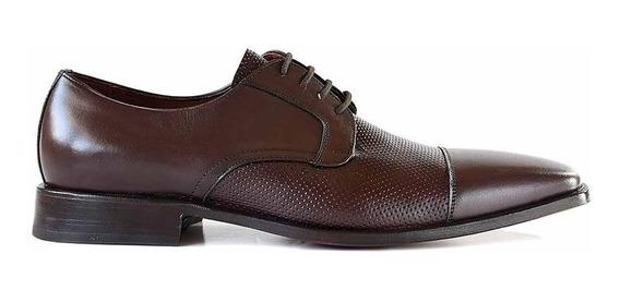 Zapato Hombre Vestir Cuero Zapatos Acordonado Briganti - Hcac00728