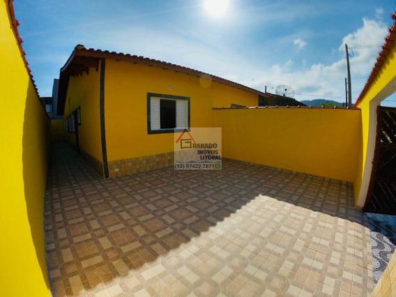Casa 3 Dormitórios Na Praia De Itanhaém. Financie Caixa