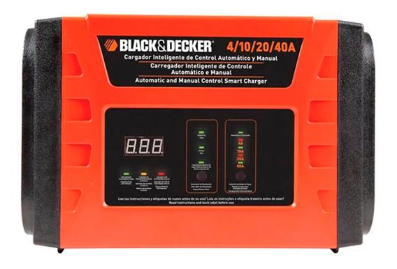 Carregador De Bateria Inteligente 40a Led Black+decker Bc40