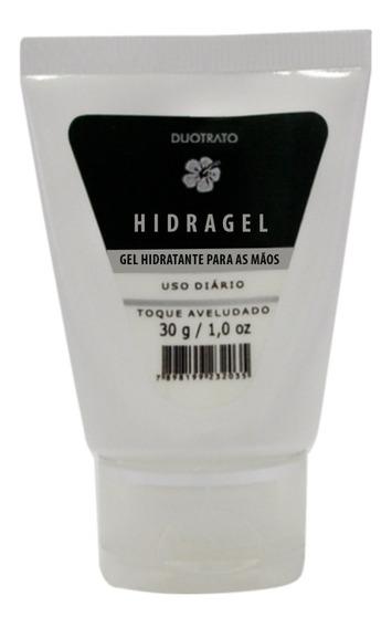 10 Hidragel Gel Para As Mãos 30g ( Toque Aveludado P/ Mãos)