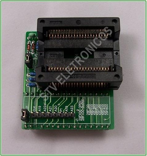 Adp-019 Adaptador Psop44 Zif Gravador Gq-4x 29f200/f400/f800