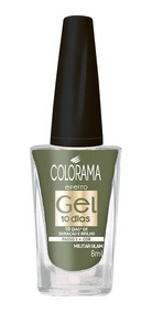 Esmalte Colorama Gel Militar Glam