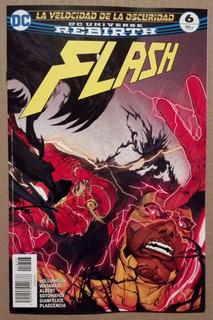 Flash #6 Dc Universe Rebirth