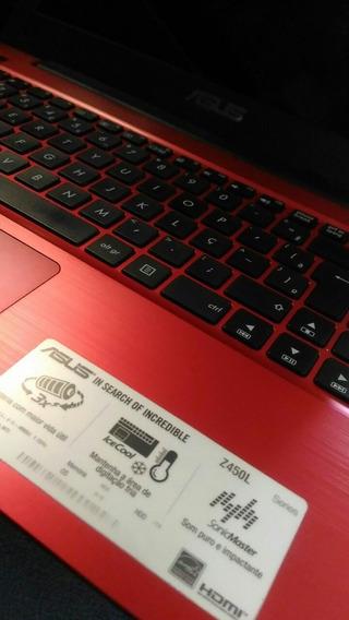 Notebook Assus Z450l Com Defeito, Venda No Estado